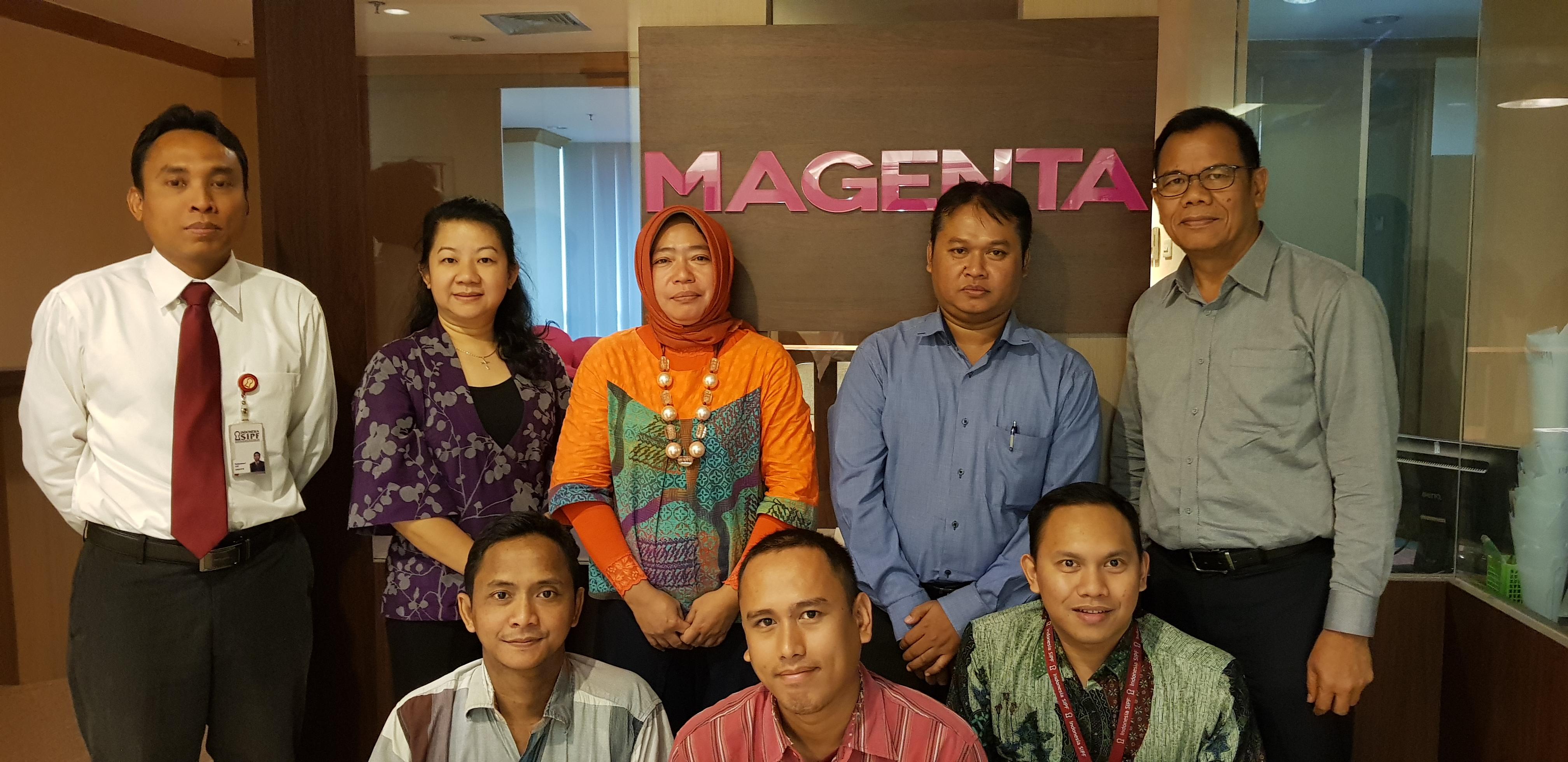 Kunjungan ke PT Magenta Kapital Sekuritas Indonesia dalam Rangka Sosialisasi Dana Perlindungan Pemodal