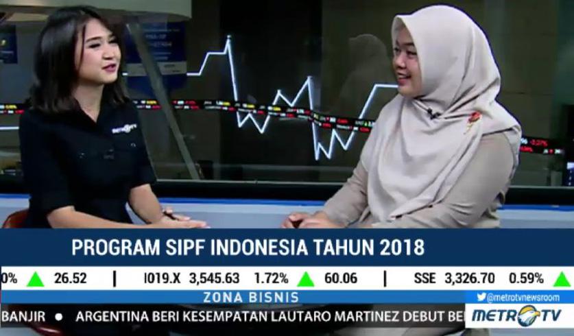 Narasumber di Metro TV mengenai Program Kerja Indonesia SIPF di Tahun 2018