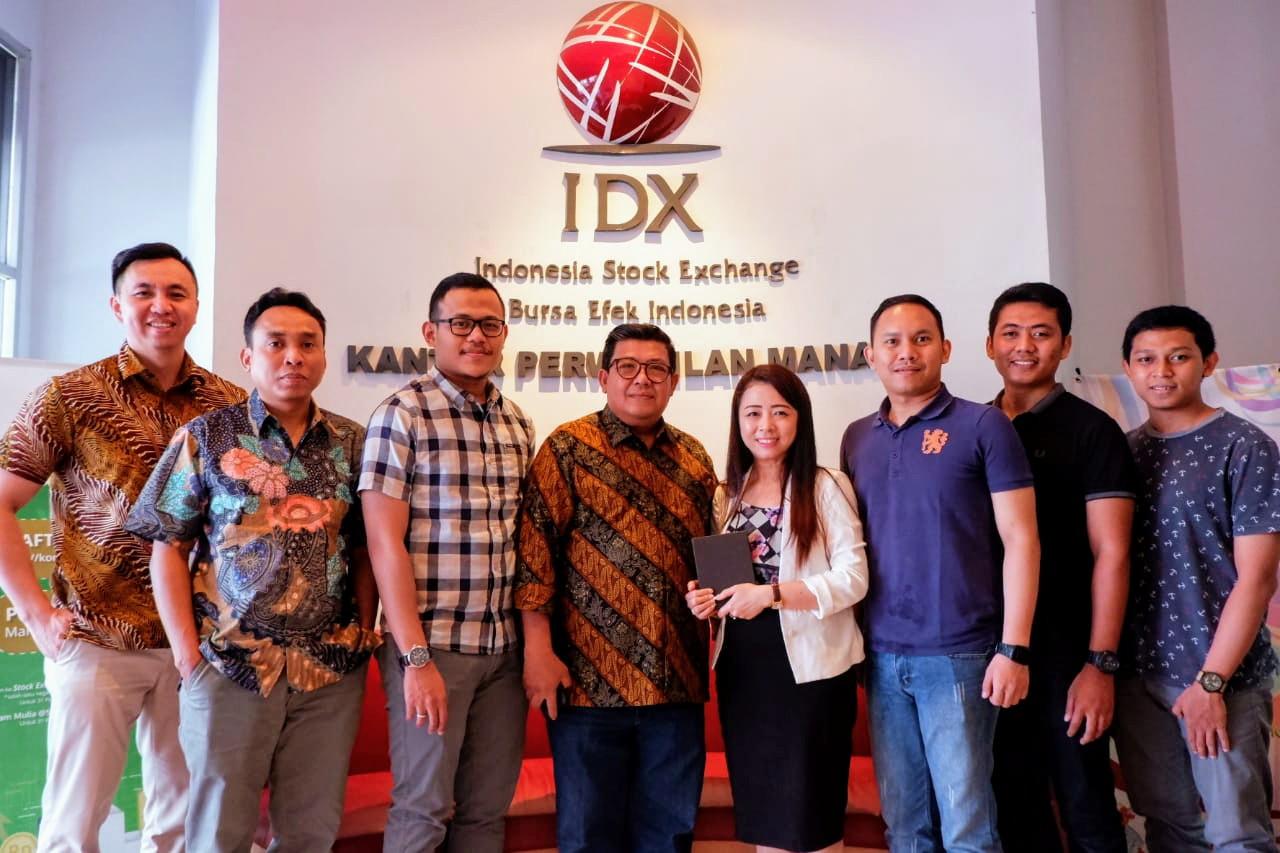 Kunjungan dan Sosialisasi ke IDX Kantor Perwakilan Manado, Sulawesi Utara