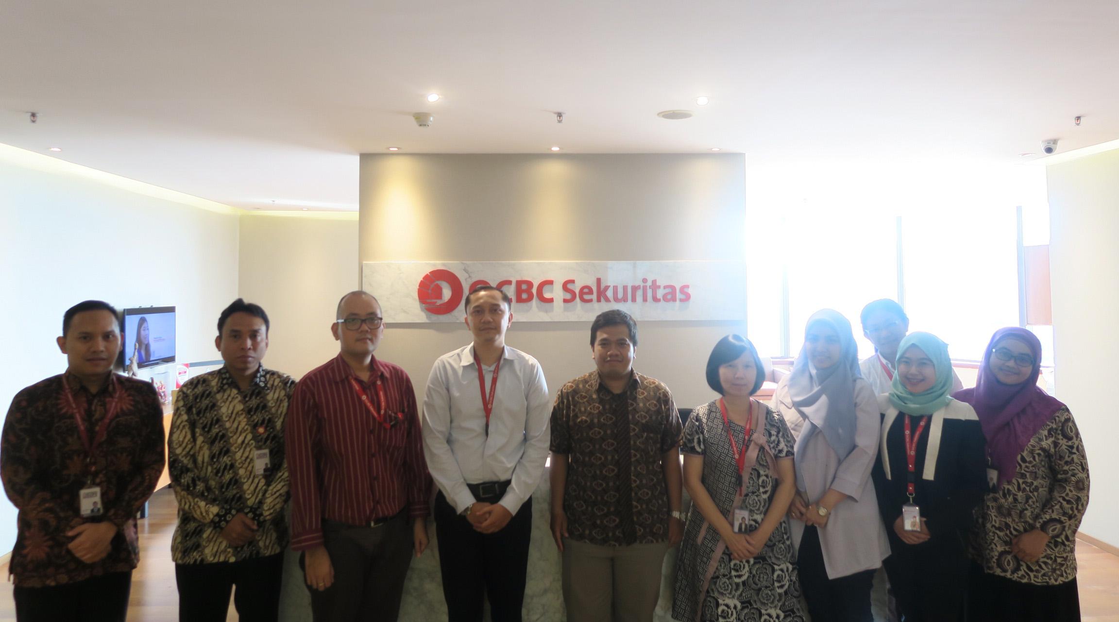 Kunjungan ke OCBC Sekuritas dalam Rangka Sosialisasi Dana Perlindungan Pemodal