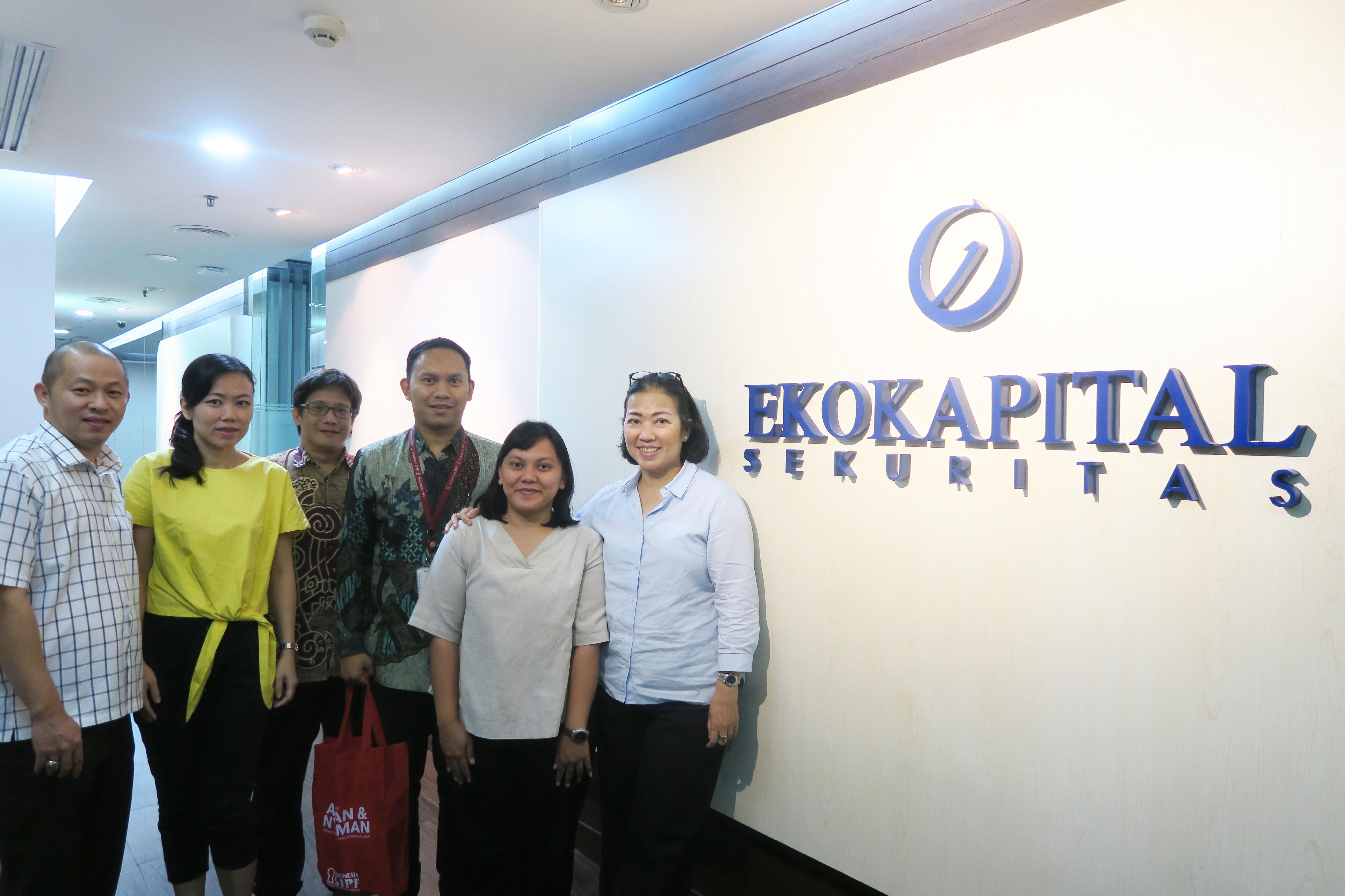 Kunjungan ke PT Ekokapital Sekuritas dalam Rangka Sosialisasi Dana Perlindungan Pemodal